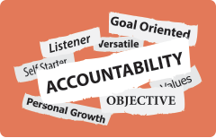 Accountability – How we can be self-accountable
