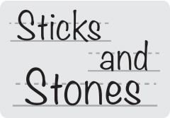 'Sticks and Stones – Am I listening or am I making it personal?