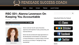 Renegade Success Coach Interview